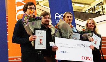 The winners of AAU CC 2016