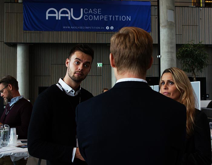 AAU Case competition - corporate lounge 2016
